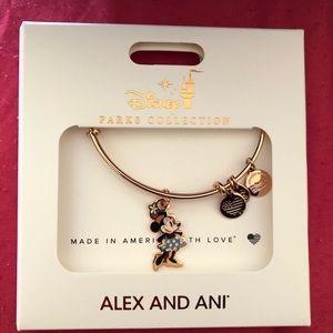 Disney Alex and Ani Minnie Mouse bracelet